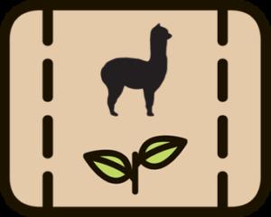 Alpaka Dünger: organisch & frisch von unserer Farm